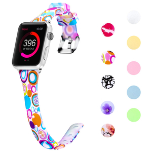 Apple Watch 38mm 40mm 42mm 44mm slim pattern bands