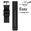 Silicone Quick Release Watch Bands - 20mm