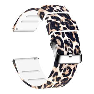 Silicone Print Watch Bands - 20mm